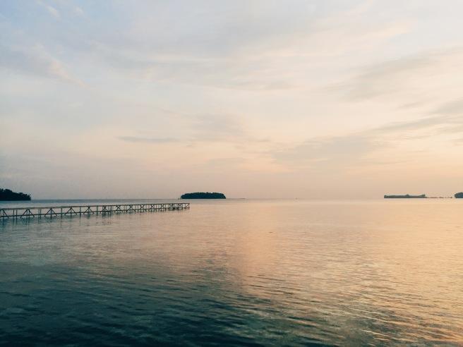 Satu sisi di pulau putri